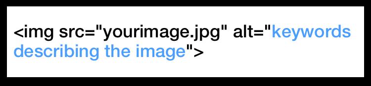 HTML alt attribute