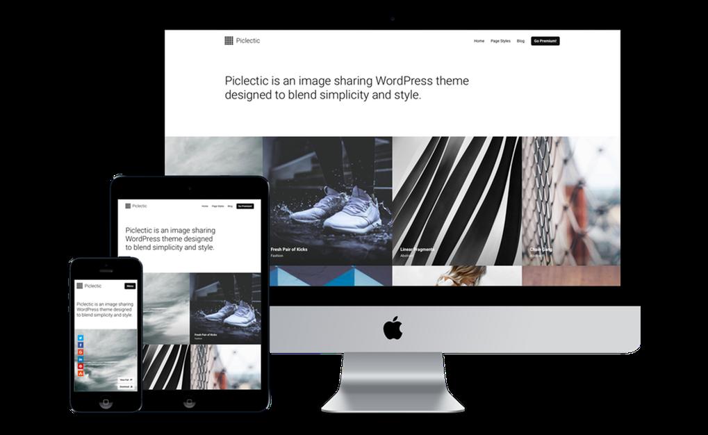 piclictic wordpress theme
