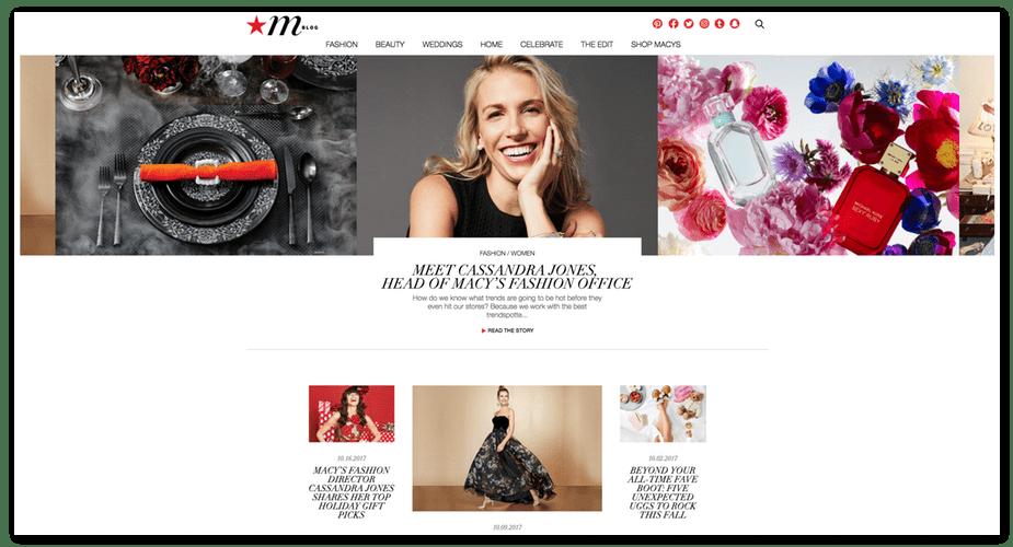 mblog homepage