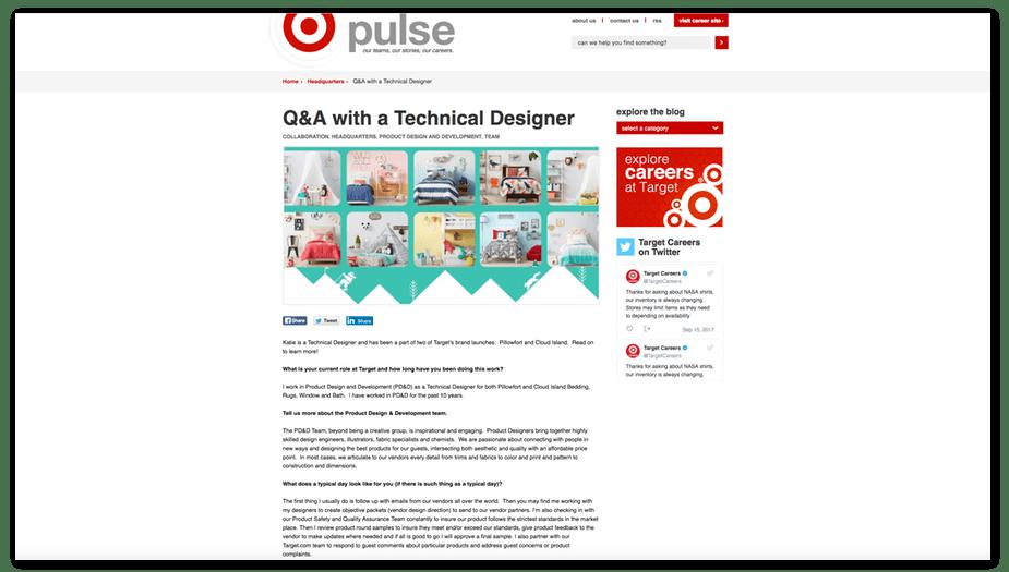 target pulse homepage